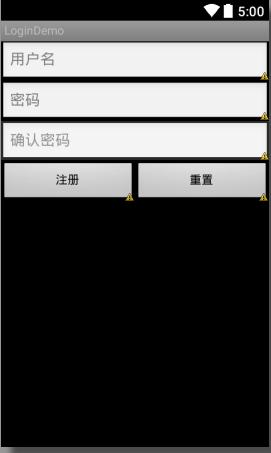 android用户登陆注册例子完整源码(含服务器端源码/mysql数据库脚本等)